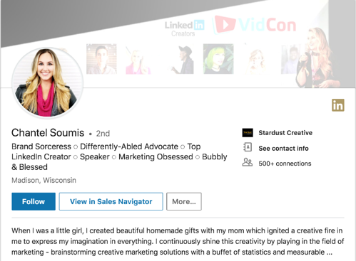 linkedin tips for event managers